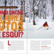 Desnivel 390 Especial Esquí de montaña. Artículo Fotos de esquí