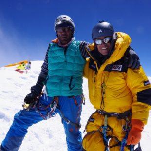 Fazal Ali en el K2