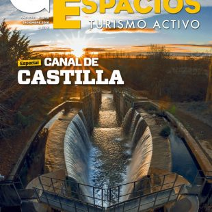 Portada de la revista Grandes Espacios nº 249. Especial Canal de Castilla. Diciembre 2018.