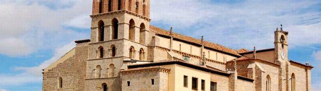 Iglesia-museo de Santa Eulalia. Ruta del Románico en el Canal de Castilla