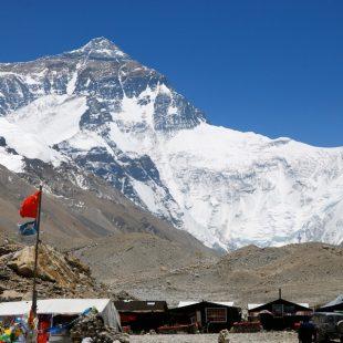Cara norte del Everest