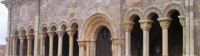 Iglesia de San Julián y Santa Basilisa (Rebolledo de la Torre). Ruta del Románico del Canal de Castilla