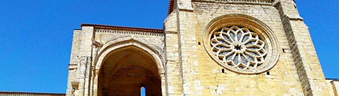 Santa María la Blanca de Villalcázar de Sirga. Ruta del Románico en el Canal de Castilla