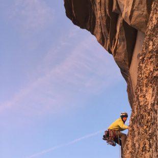 Pete Whittaker en Yosemite