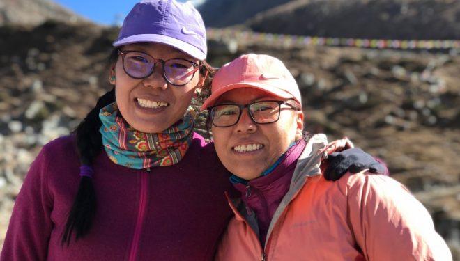 Furdiki Sherpa y Nima Doma Sherpa