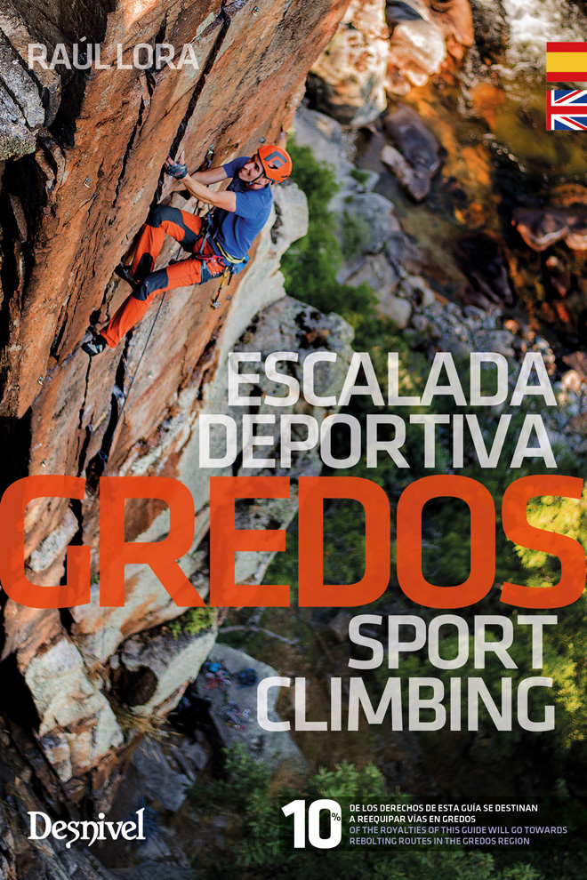Portada de la guía de Gredos. Escalada deportiva