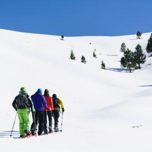 Con raquetas de nieve por el Pirineo Catalán