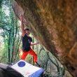 Pol Roca en 'Boulder Blaster' 8C de La Comarca