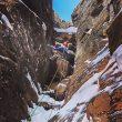 Scott Coldiron en 'Canmore wedding party' al A Peak (Cabinet Mountains)