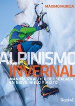Portada del manual Alpinismo invernal, por Máximo Murcia