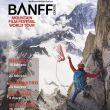 Cartel oficial del Tour Mundial del BANFF en España que se inicia en Huesca el 16 de febrero