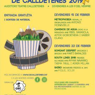 Ciclo de Cine de Montaña y Aventura de Calldetenes 2019.