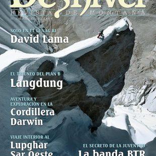 Portada de la revista Desnivel 392. Febrero 2019