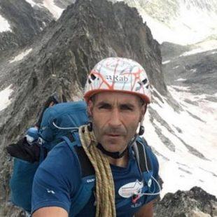 Jesús Gutiérrez Rey, el alpinista accidentado en el Fitz ROY.