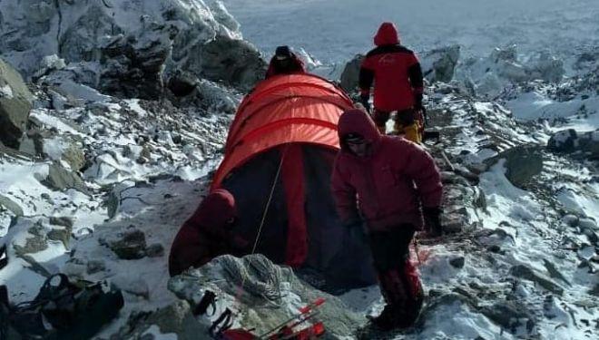 CBA del equipo de Pivtsov en el K2 invernal
