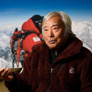 Yuichiro Miura, de 86 años