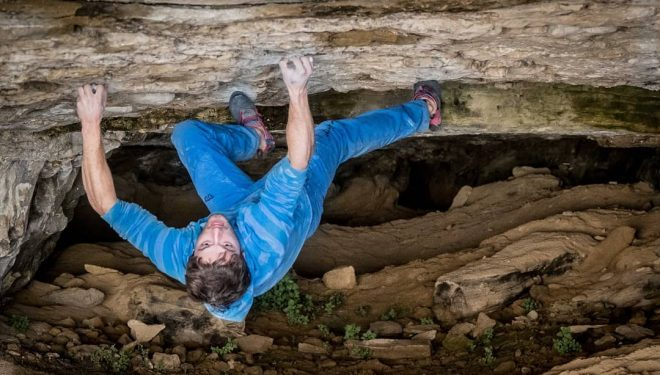 Pol Roca en 'Catalan witness the fitness' 8C de la Cova de l'Ocell