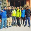 Álex Txikon y los cinco sherpas que irán con él al K2 invernal