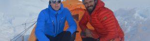 Daniele Nardi y Tom Ballard en el Nanga Parbat invernal donde se encuentran desaparecidos desde el pasado 24 de febrero.