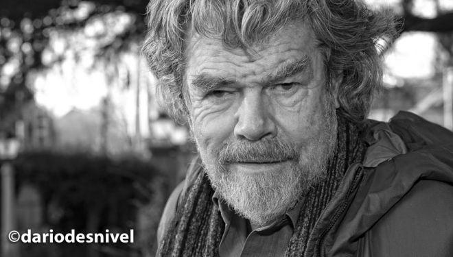 Reinhold Messner en la Semana Montaña de Guadarrama (diciembre 2018).