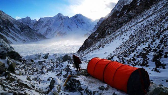 CBA en el K2 invernal