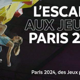 La escalada deportiva, olímpica en Paris 2024