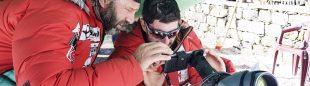 Fotos del intento rescate en Nanga Parbat de Daniele Nardi y Tom Ballard tomadas por el equipo de Alex Txikon (marzo 2019).