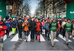 Tramo de la marcha XIX Subida al Pagasarri  ()