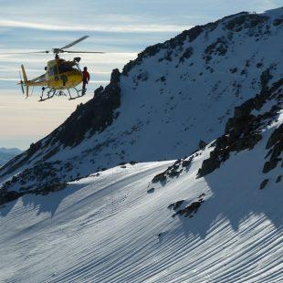 Práctica del helicóptero de rescates del GRS de Castilla y León.  (Protección Civil Castilla y León)