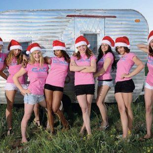 Las chicas del calendario de la C.A.C. 2014  (Caroline Treadway)