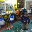 El equipo de Petzl Perú y su valiosa aportación al rescate del espeleólogo madrileño Cecilio López-Tercero.  (rescateintimachay.blogspot.com.es/)