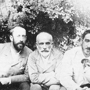 De izquierda a derecha: Ricardo Rubio