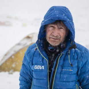 Carlos Soria en el Annapurna. 2016  (© Colección Carlos Soria)