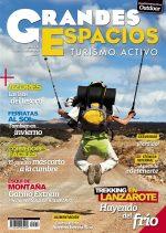 Portada de la revista Grandes Espacios nº 217. Enero 2016. [WEB]  ()