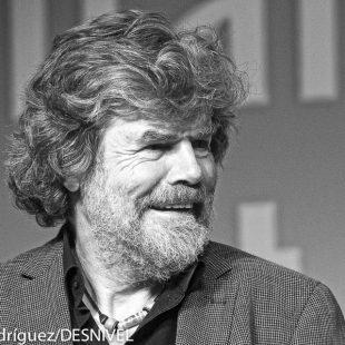 Reinhold Messner en el International Mountain Summit 2014.