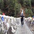 David Göettler entrenando en Nepal para el Shisha Pangma 2017  (©David Göettler)