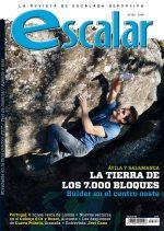 Portada de la revista Escalar nº 109. Especial bloque en Ávila y Salamanca.  ()