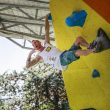 El escalador italiano Gabriele Moroni segundo en el Rock Master K0 Boulder 2017  (©Klauss Dell´Orto)