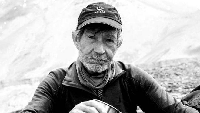 Carlos Soria en el Dhaulagiri. 2018